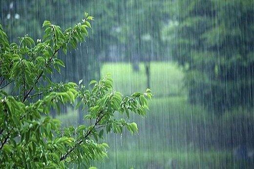 بارش شدید باران در این ۹ استان