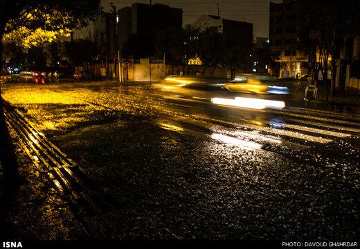 هشدار سازمان هواشناسی نسبت به رگبار باران در ۵ استان