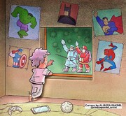 ببینید: عکس قهرمانان روی دیوار اتاقها عوض شد!