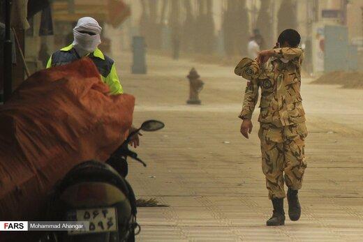 وزش باد شدید و غبار ایران را دربرمیگیرد