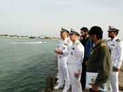 بازدید فرمانده نیروی دریایی ارتش از پایگاه دریایی شرق خزر
