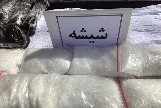 باند شیشه در شرق تهران فروپاشید