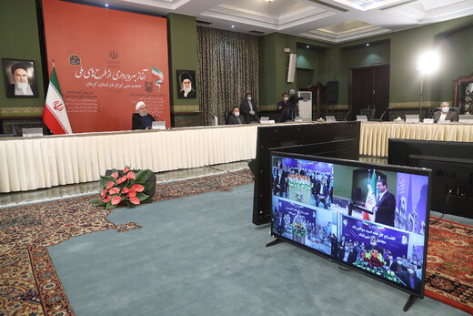 President: Opening of landmark projects, strong response to global arrogance