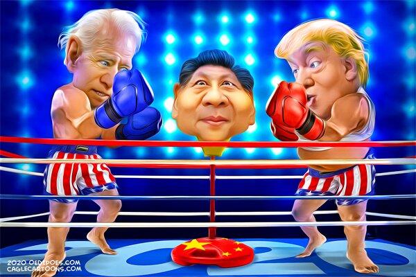 نقطه مشترک این روزهای ترامپ و بایدن را ببینید!