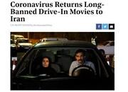 گزارش جالبِ رسانه آمریکایی از طرح سینما ماشین در برج میلادِ تهران