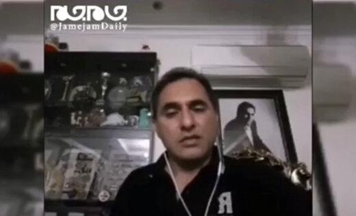 ببینید | لحظه غافلگیری قهرمان وزنه برداری جهان بر اثر زلزله تهران!