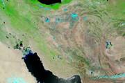 ببینید | عکس منتشر شده از سازمان فضایی آمریکا از بهار ایران
