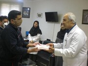 از کارکنان حوزه پشتبانی انتقال خون گلستان تجلیل شد