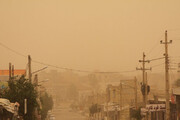 ببینید    گرد و غبار به قرنطینه و وضعیت قرمز کرونا در آبادان اضافه شد