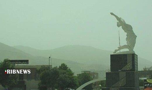آلودگی هوای کردستان روی شاخص ۲۰۰