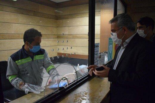 کیفیت اجرای فاصله گذاری اجتماعی در متروی تبریز رضایت بخش است