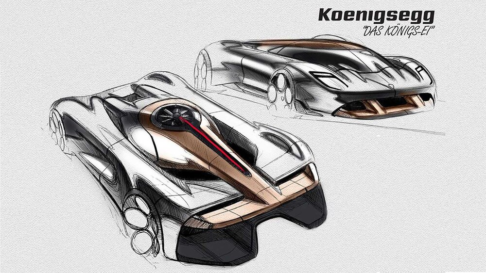 طرح مفهومی و فوق العاده خودرو کونیگزگ کونیگزی منتشر شد.