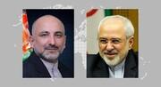 گفتگوی ظریف با وزیرخارجه افغانستان؛ توافق دو طرف برای بررسی ابعاد حادثه مرزی
