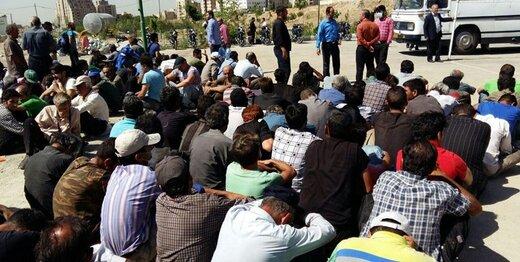 بازداشت ۴۰۰ معتاد متجاهر خارجی در تهران