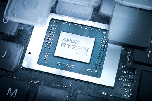 AMD سری جدید پردازنده Ryzen Pro ۴۰۰۰ را برای رقابت با vPro اینتل معرفی کرد