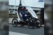 ببینید | نسل جدید خودروها،رکاب بزنید و رانندگی کنید