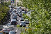 ترافیک نیمه سنگین در محدوده ورودی پایتخت