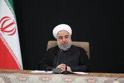 پیام روحانی به   رئیس جمهور لبنان به مناسبت  فرا رسیدن عید مقاومت