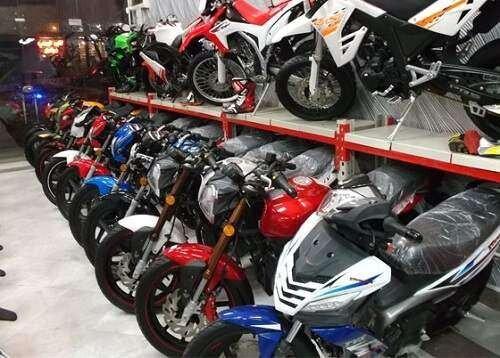 بازار داغ موتور سیکلتهای ۲۰۰ میلیونی!