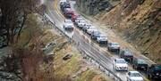 شلوغی جادههای منتهی به شمال؛ ترافیک سنگین در آزادراه کرج-قزوین