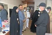 عکس دیدار فرمانده بلندپایه ارتش با خانواده شهدای حادثه تلخ ناوچه کنارک