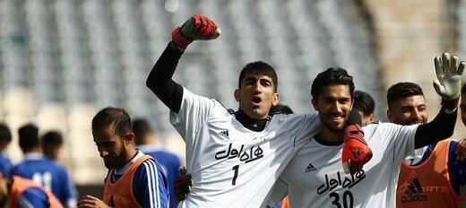 بیرانوند67%،حسینی32%؛جدیدترین رقابت ایرانیها شروع شد/عکس