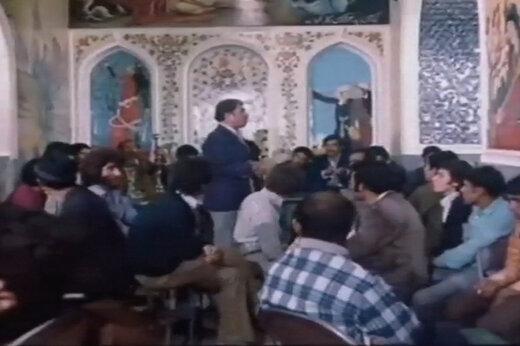ببینید | بخشهایی زیرخاکی از فردوسیخوانی در تهران قدیم