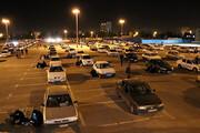 تصاویر | برگزاری مراسم شب احیا به سبک سینما ماشین