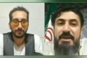ببینید | لایو پر سر و صدای مسئول حوزه هنری خوزستان: اگر جای رئیس جمهور بودم معین را به ایران دعوت میکردم
