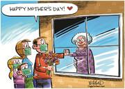 ببینید: کرونا روز جهانی مادر را هم خراب کرد!
