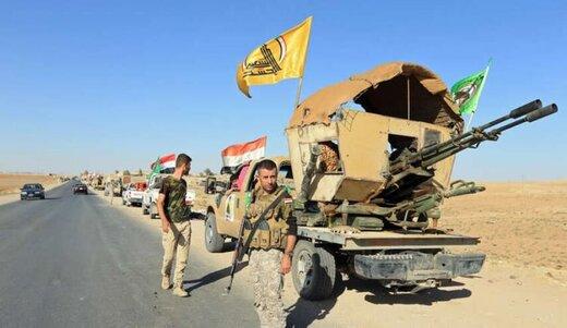 دفع حملات داعش از سوی حشدالشعبی