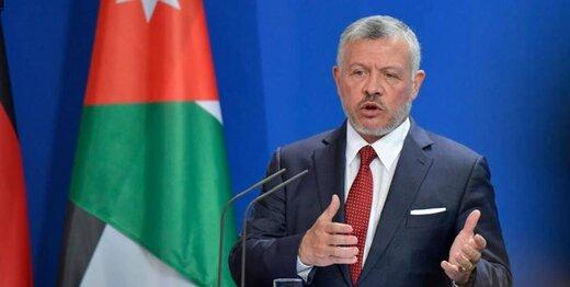 پادشاه اردن اسرائیل را تهدید به جنگ کرد