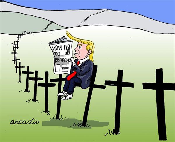 اینم ترامپ و نتیجه تصمیماتش!