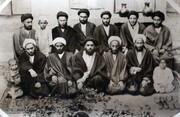 تصویری دیدنی از دوران جوانی امام خمینی و کودکی آیت الله شبیری زنجانی