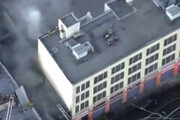 ببینید | زخمی شدن 10 آتش نشان بر اثر انفجار در لس آنجلس