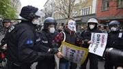 آلمانی ها بار دیگر علیه قرنطینه به خیابان ها آمدند