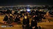 برگزاری مراسم احیای شب بیست و سوم در جوار مزار شهدای گمنام قم