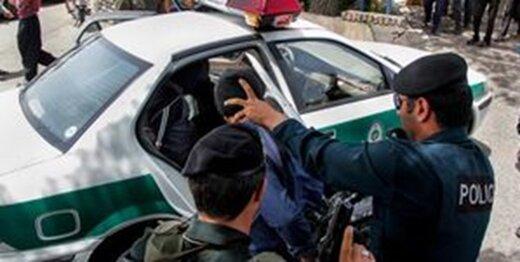 بازداشت دزدهای گردنکلفت در کرمانشاه