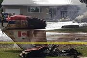 ببینید | سقوط یک فروند هواپیمای تیم آکروبات هوایی کانادا
