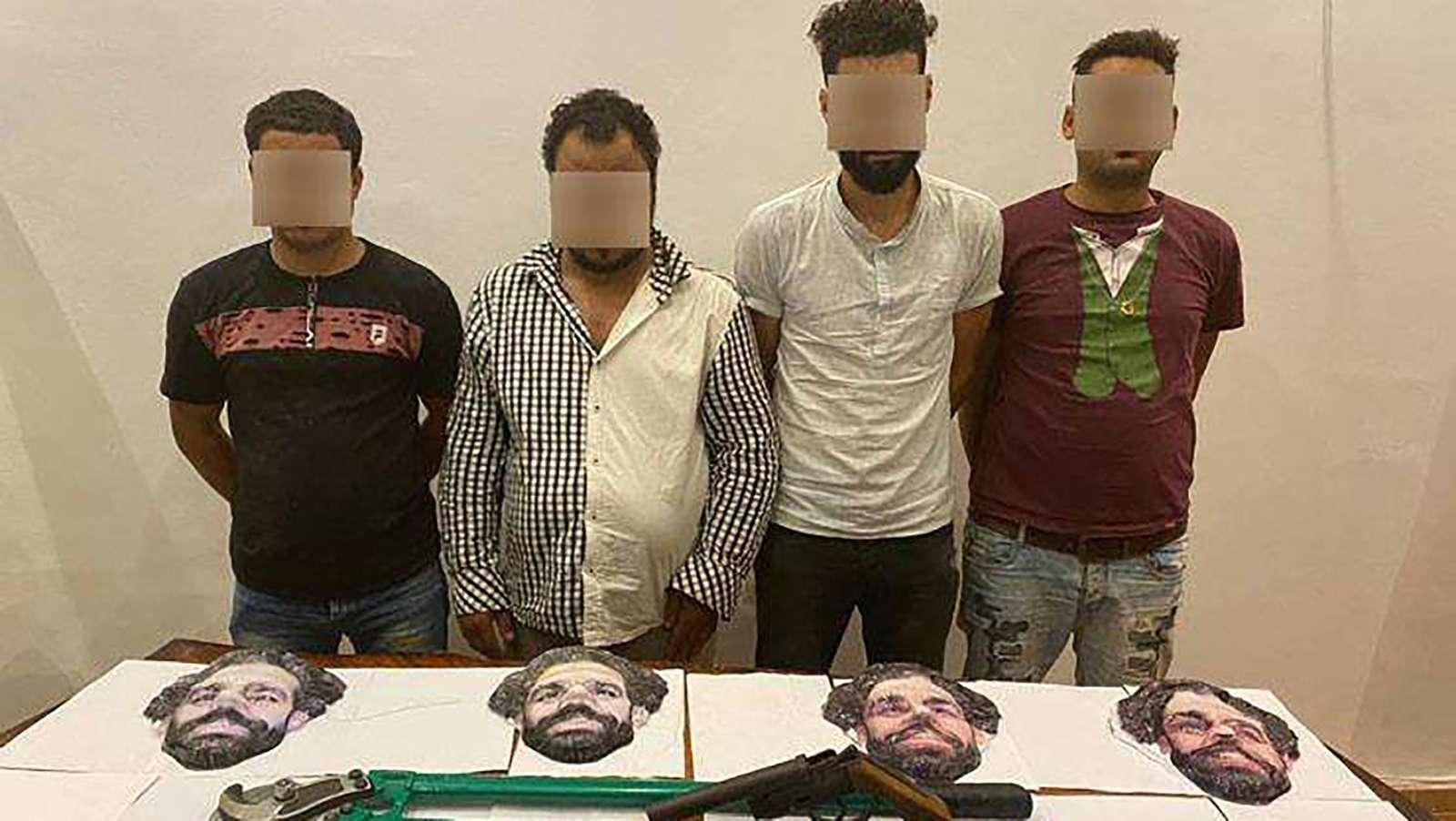 دزدی با صورت محمد صلاح در مصر!/عکس