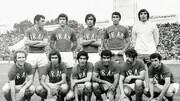 اولین بازی خانگی تیم ملی پس از انقلاب/عکس