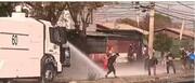 مردم شیلی، معترض به قرنطینه/ عکس