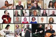 ببینید | اجرای جهانی شعر سعدی با صدای علیرضا قربانی و هنرمندانی از کشورهای دیگر