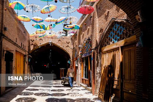 بازار «اودلاجان» در روزهای کرونایی