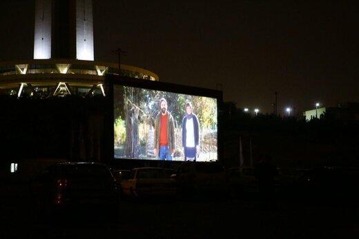 گزارشی از اکران فیلم «جهان با من برقص» در سینما ماشین