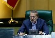عکس یادگاری نمایندگان با علی لاریجانی در آخرین روز ریاستش بر پارلمان