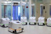 ببینید | رباتهای هوشمند ضد کرونا فعال شدند