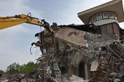 ببینید | تخریب یکصد ویلای لوکس و لاکچری غیرمجاز در شهرستان شهریار