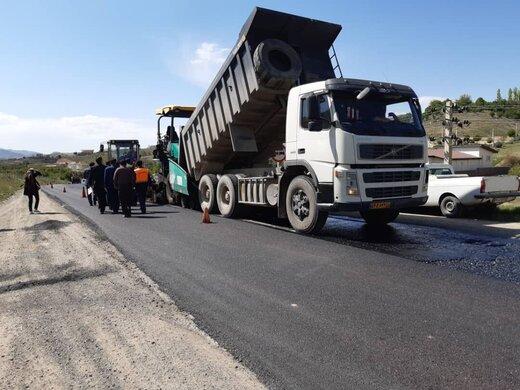 بهسازی و آسفالت جاده شوشتر - اهواز آغاز شد