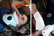 نجات معجزهآسای زن ۸۰ ساله از ارتفاعات قزوین
